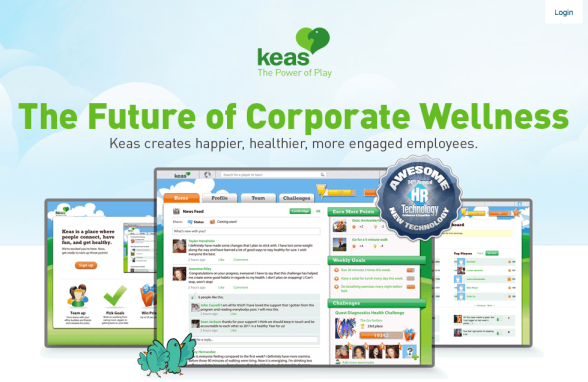Corporate wellness gamification