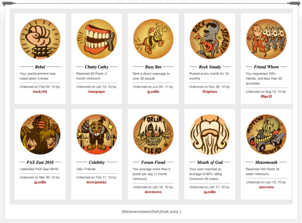 Badges, Gamification