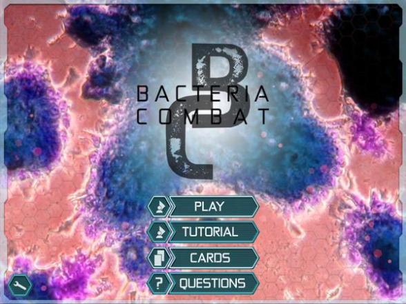 Bacteria Combat-title-sceen